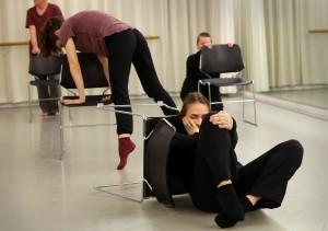 Leeuwarden, Repetitie theaterstuk over eenzaamheid bij Keunstwurk.